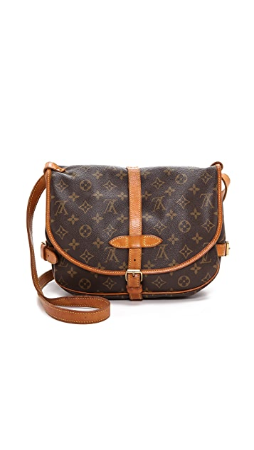 What Goes Around Comes Around Louis Vuitton Monogram Saumur Bag