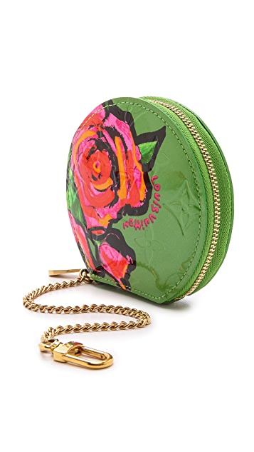 What Goes Around Comes Around Louis Vuitton Sprouse Rose Coin Purse