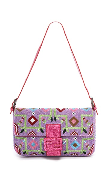 a4816ed67821 What Goes Around Comes Around Fendi Beaded Baguette Bag