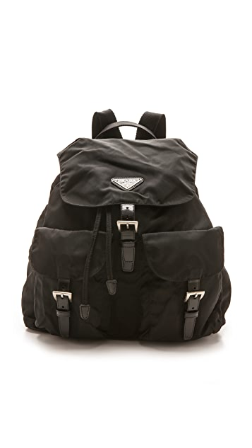 b044f9a54634 What Goes Around Comes Around Prada Nylon Backpack   SHOPBOP