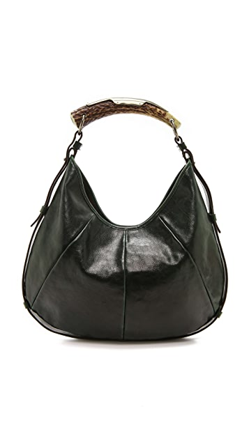 75e1ccf489 What Goes Around Comes Around YSL Mombasa Horn Bag