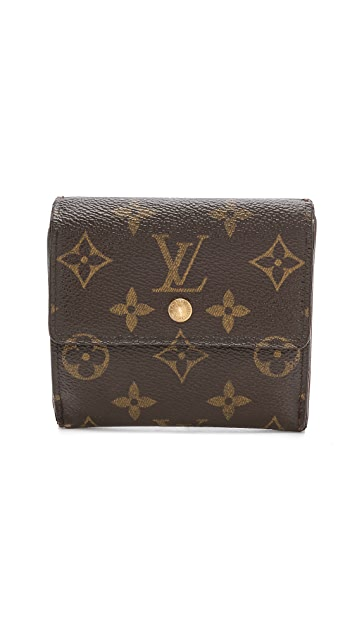 65b93426b504 What Goes Around Comes Around Louis Vuitton Monogram Elise Wallet ...