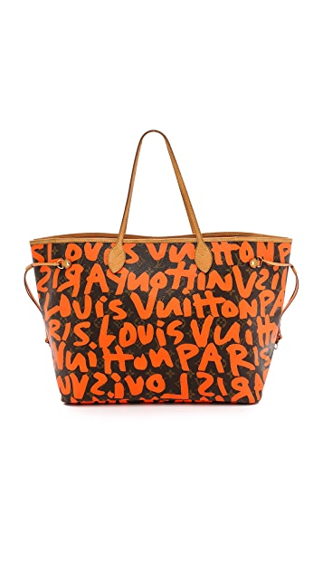 What Goes Around Comes Around Louis Vuitton Sprouse Neverfull Bag (Previously Owned)