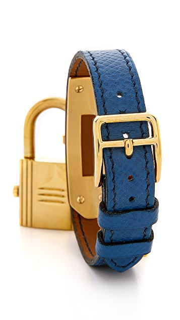 What Goes Around Comes Around Vintage Hermes Epsom Kelly Watch