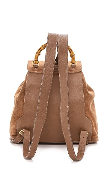 What Goes Around Comes Around Gucci Bamboo Backpack