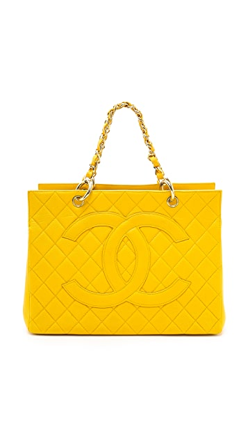What Goes Around Comes Around Chanel Cavier CC Tote