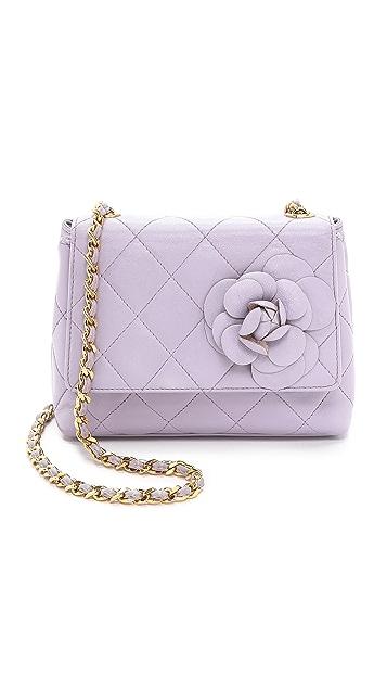 284e0471b4b177 What Goes Around Comes Around Chanel Camellia Mini Bag   SHOPBOP