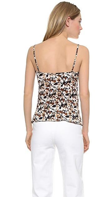 What Goes Around Comes Around Chanel Printed Tank