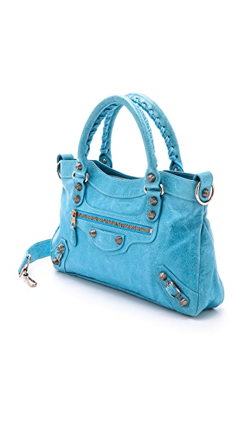 What Goes Around Comes Around Balenciaga Agneau Satchel (Previously Owned)