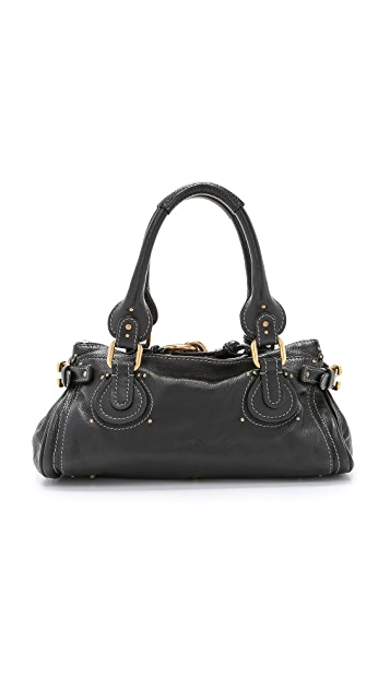 What Goes Around Comes Around Chloe Medium Paddington Bag