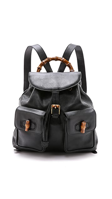 27da716a553 What Goes Around Comes Around. Gucci Bamboo Backpack (Previously Owned)