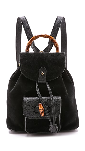 630e07027518 What Goes Around Comes Around Gucci Small Bamboo Backpack ...
