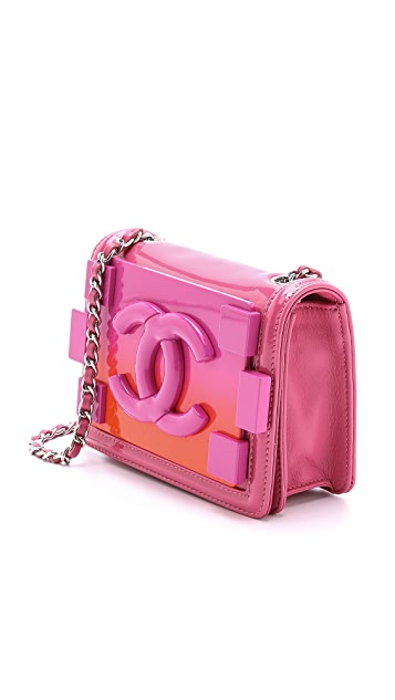 What Goes Around Comes Around Chanel Ombre Logo Bag
