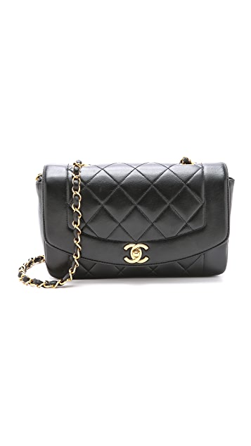 efcc61115a5de4 What Goes Around Comes Around Chanel Classic 9'' Flap Bag | SHOPBOP