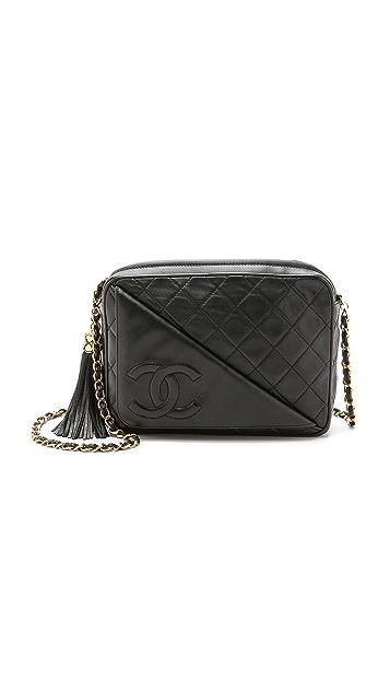 What Goes Around Comes Around Chanel Diagonal Pocket Camera Bag