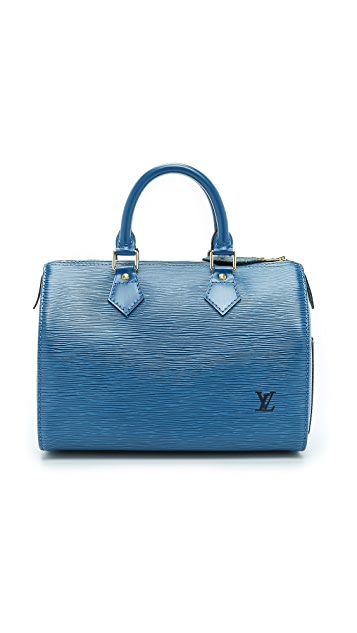 525705d35cf7 What Goes Around Comes Around Louis Vuitton Epi Speedy 25 Bag