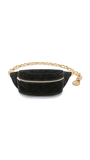 85a1e52b2bf028 What Goes Around Comes Around Vintage Chanel Velvet Waist Pouch ...