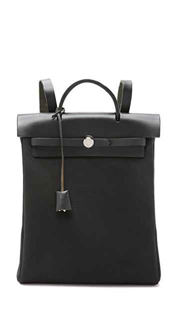 c0cb23fe9831 What Goes Around Comes Around Heritage Hermes Herbag Backpack