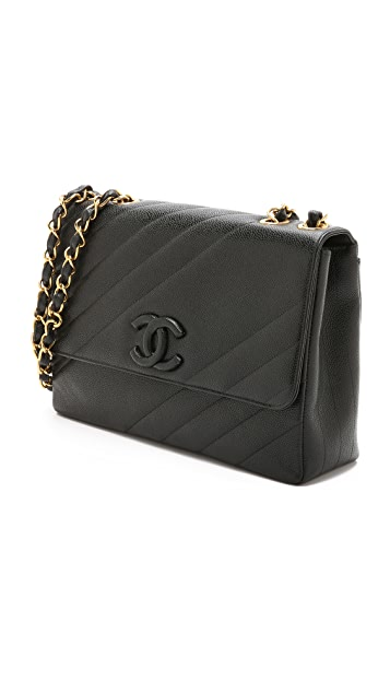 What Goes Around Comes Around Chanel Maxi Flap Bag (Previously Owned)