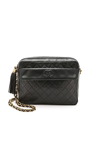 What Goes Around Comes Around Heritage Chanel CC Pocket Large Camera Bag