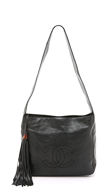 What Goes Around Comes Around Chanel CC Tassel Hobo Bag (Previously Owned)