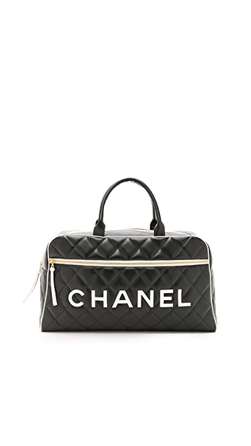 What Goes Around Comes Around Chanel Bowler Bag (Previously Owned)