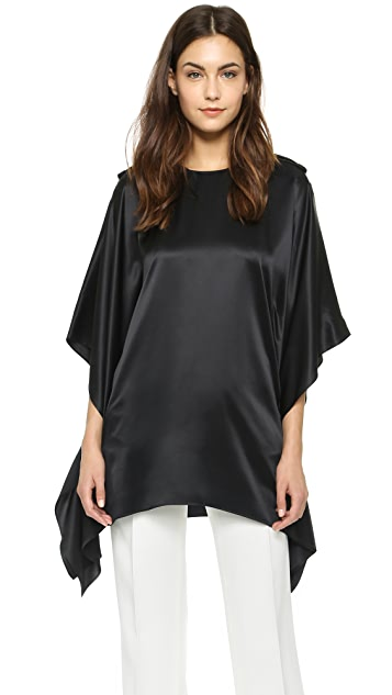 What Goes Around Comes Around Givenchy Silk Blouse (Previously Owned)