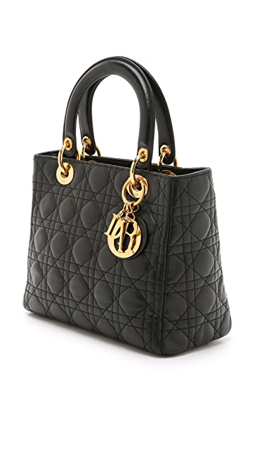 ... What Goes Around Comes Around Small Dior Lady Dior Bag (Previously  Owned) ... b8b52632fd69c