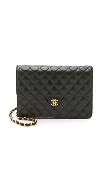 What Goes Around Comes Around Chanel Turnlock 10'' Bag (Previously Owned)
