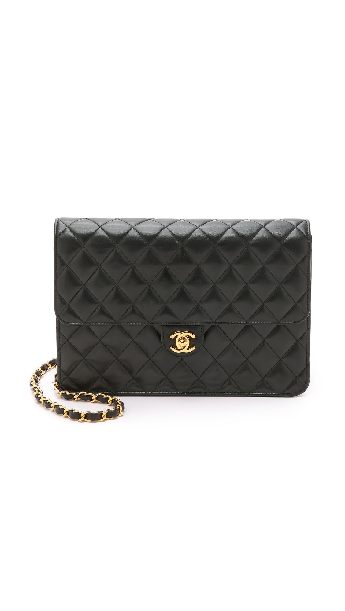 """What Goes Around Comes Around Chanel Turnlock 10"""" Bag (Previously Owned)"""