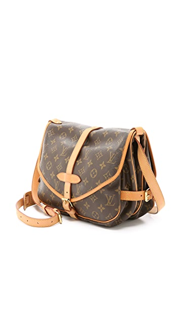 What Goes Around Comes Around Louis Vuitton 交织字母 Speedy 30 包(旧款)