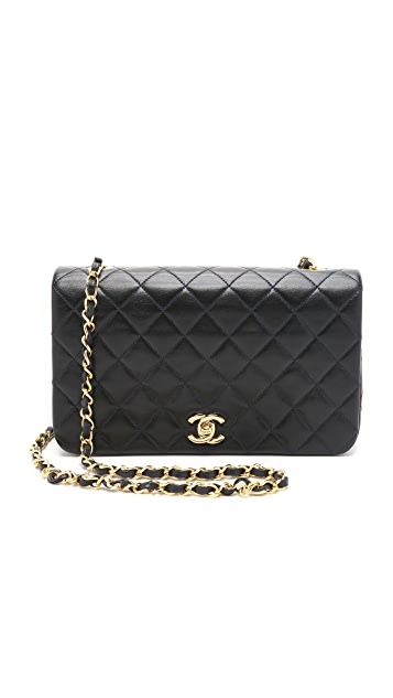 What Goes Around Comes Around Chanel 9'' Full Flap Bag (Previously Owned)