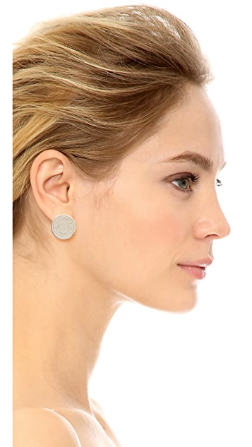 What Goes Around Comes Around Hermes Cloudeselle Shiny Earrings