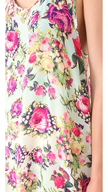 We Are Handsome Silk Cover Up Dress