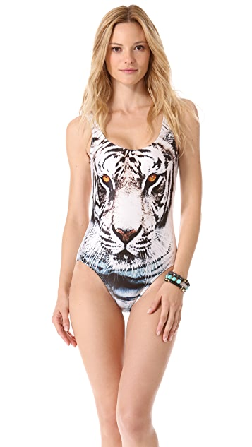 We Are Handsome Scoop One Piece Swimsuit