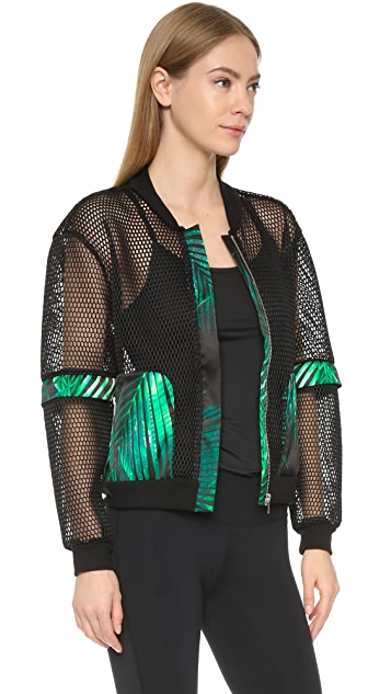 We Are Handsome The Kinabalu Active Mesh Bomber