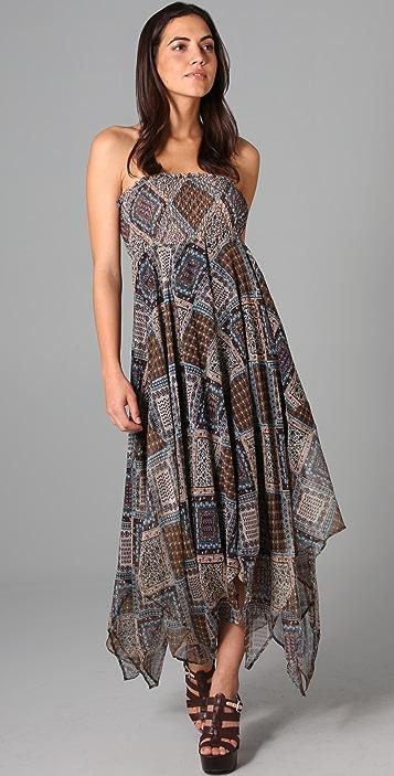 What Goes Around Comes Around Marianne Strapless Dress