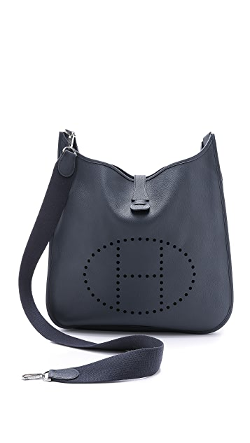 What Goes Around Comes Around Vintage Hermes Evelyne II TGM Bag