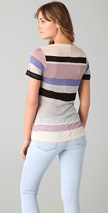 Whetherly Sloan Batiste Stripe Top