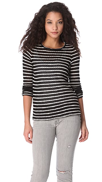 Whetherly Olivia Rib Stripe Top