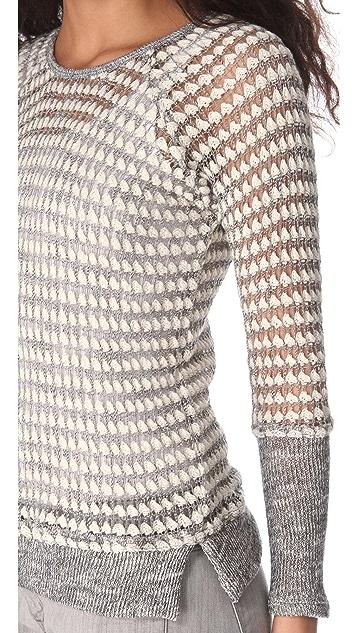 Whetherly Zuma II Bubble Stitch Sweater