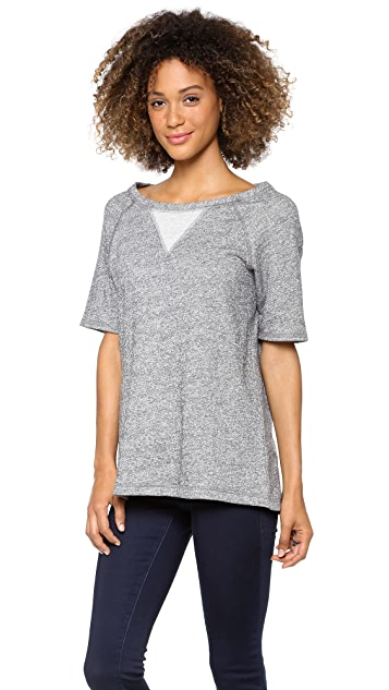 Whetherly Gia Short Sleeve Sweatshirt
