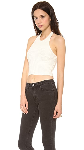 Whistles Cindy Halter Top