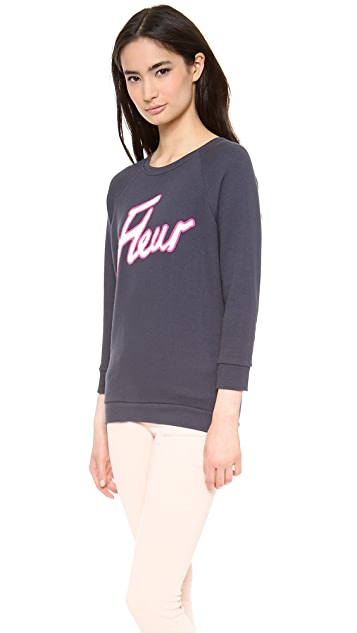 Whistles Fleur Logo Sweatshirt