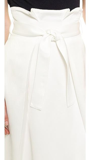 Whistles Aya Wrap Waist Skirt