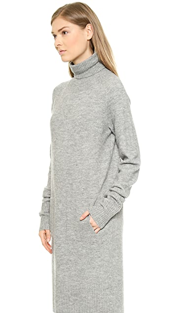 Whistles Longline Slouchy Knit Dress