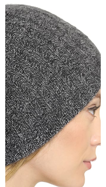 White + Warren Cashmere Rib Hat
