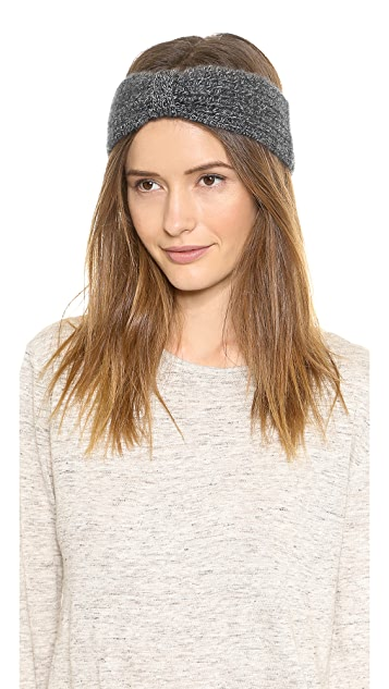 White + Warren Cashmere Knotted Headband