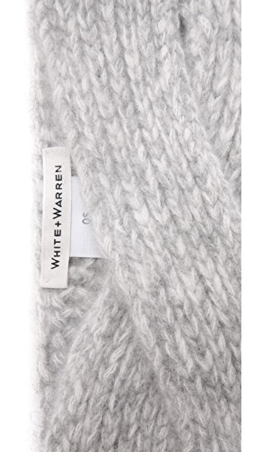 White + Warren Cashmere Headband
