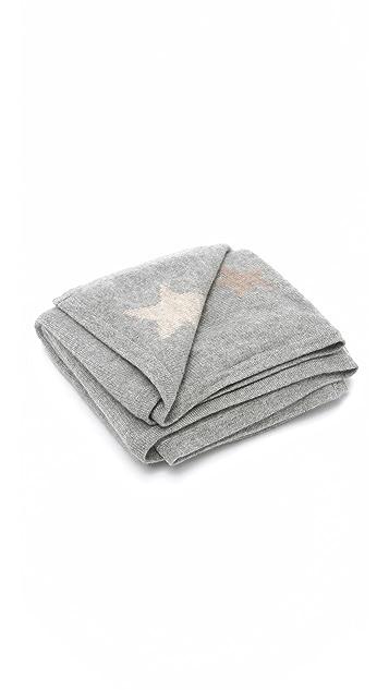 White + Warren Star Cashmere Baby Blanket